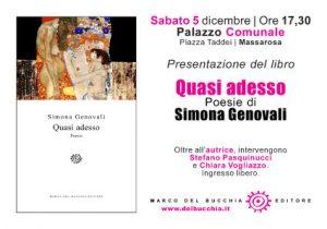 Quasi adesso di Simona Genovali