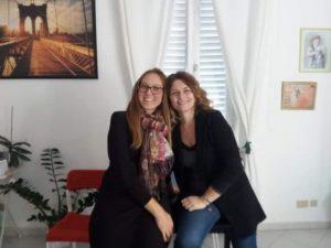 Simona Genovali e Federica Mari