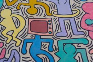 murale di Keith Haring