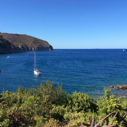 Trekking in Capraia