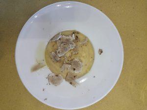 ricetta con tartufo purea